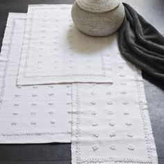 Buy Toulon Bath Mats - from The White Company