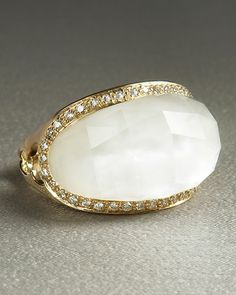 Quartz Jellybean Ring by Stephen Webster at Neiman Marcus.