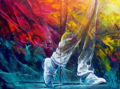 Austria arts, austrian arts, rubin voka paintings, rubin voka dance on the Voka Art, Modern Masters, Creative Journal, Cat Treats, Large Painting, Artsy Fartsy, Art Projects, Abstract Art, Austria