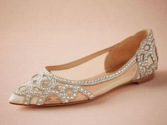 e5d11880c 25 Flats Fancy Enough to Walk Down the Aisle In