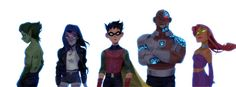 Teen Titans by russelldels