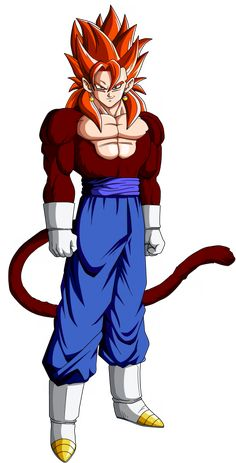 Image - Vegetto SSJ4 - 100% DRAGON BALL Z - Skyrock.com