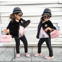 Have you seen the @theroyaltwins. They are adorable  #Chanel #ptbaby grown up