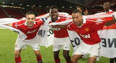 Tom Thorpe, Paul Pogba and Jesse Lingard won the FA Youth Cup with @manutd in 2010/11.