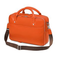 Giorgio Fedon 1919 – Italian Leather Laptop Case – Orange  http://www.alltravelbag.com/giorgio-fedon-1919-italian-leather-laptop-case-orange/