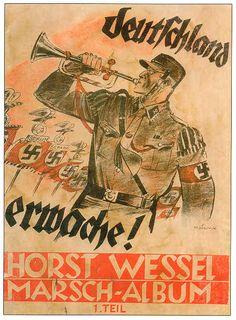 """German  WW2  """"Germany wake up!"""""""
