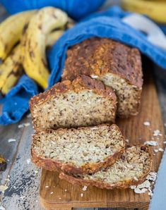 Banana Bread, Foodies, Recipies, Gluten Free, Breakfast, Sweet, Paleo, Snacks, Recipes