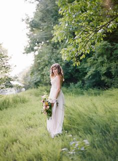 Organic Bloomsbury Farm wedding inspiration | Photo by Amy Nicole Photography | Read more - http://www.100layercake.com/blog/?p=78985