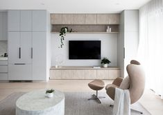 Custom floor to ceiling living and lounge room cabinetry Feature Wall Living Room, My Living Room, Home And Living, Living Room Decor, Tv Feature Wall, Living Room Storage, Living Room Tv Unit Designs, Casa Patio, Building A New Home