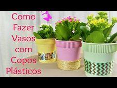 Reciclagem - Copos de Macarrão Instantâneo - YouTube