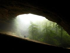 Sand Cave in Cumberland Gap National Park