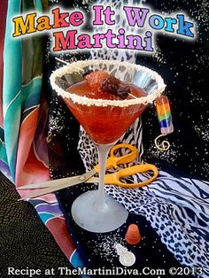 #ProjectRunway starts tonight!! Shake up my MAKE IT WORK MARTINI & enjoy in style!