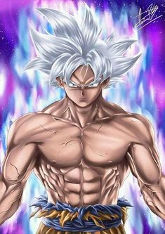 Goku Mastered Ultra Instinct by Pellisari on DeviantArt Dragon Ball Gt, Dragon Z, Vegito Y Gogeta, Goku Ultra Instinct, Ssj2, Dragon Images, Anime Characters, Manga Anime, Picsart