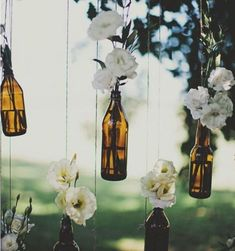 Rustic Country Wedding Decorations, Wedding Decorations On A Budget, Cheap Wedding Ideas, Cheap Backyard Wedding, Wedding Deco Ideas, Wine Wedding Centerpieces, Diy Engagement Decorations, Autumn Wedding Ideas On A Budget, Backyard Decorations
