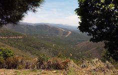 Panorámica desde el Mirador del Chorro. Sierra de Gata
