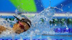 Die deutsche Schwimmerin Alexandra Wenk. © dpa Fotograf: Michael Kappeler