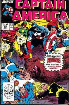 Captain America #352, 1989