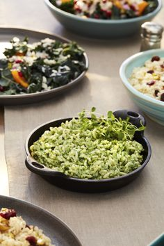Foodie Friends: 5 Side Dishes to Pass Around at This Year's Holiday Dinner Best Side Dishes, Healthy Side Dishes, Tasty Dishes, Rice Recipes, Veggie Recipes, Whole Food Recipes, Healthy Recipes, Salad Dishes, Rice Dishes