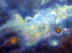 Celestial Symphony Skyscape Clouds Original by MarinaPetroFineArt, $650.00  https://www.etsy.com/listing/56362220/celestial-symphony-skyscape-clouds