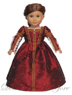 'Eleanora di Toledo' Dress (Special shout out to Clothes of Yore!)