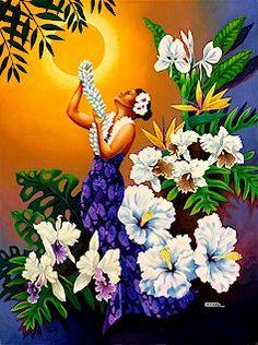 Hawaiian Art Prints Hawaiian Paintings Rapozo Hawaii paintings Hawaiian painter