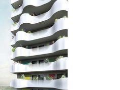 projekte - wohnen - CGLA wohnhochhaus - querkraft architekten