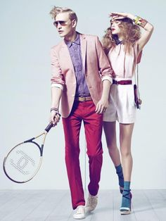 play some tennis