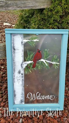 Most current Images Snowman painting on window Suggestions It is really not easy to avoid including a snowman painting challenge straight into a skill curricul Painted Window Panes, Window Pane Art, Painted Screens, Old Windows Painted, Window Frames, Painting On Screens, Old Window Crafts, Old Window Projects, Window Ideas