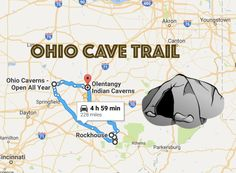 From the popular caverns to the little-known caves, this trip features some of Ohio's best caves that will bring out your adventurous side.