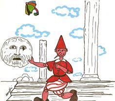 """""""Pinocchio e La Bocca della Verità"""" by Massimo Maffei Pinocchio, Rome, Comics, Drawings, Artwork, Artist, Pictures, Painting, Photos"""