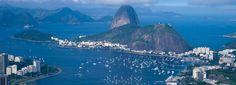 PhantastischerBlick über die Stadt und die Guanabara-Bucht. #Rio