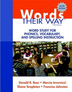 Words their way resource.  Did not know they had a core text for ELL students (duh, just looked in my teacher copy and there it is - big as life.  I am a reading teacher for Pete's sake!)  Not sure why Amazon reviews aren't better.  Books are full of great ideas, games and printables.  Lots of sorts and they are so helpful.