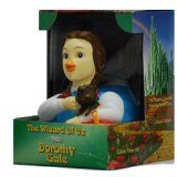 Dorothy from Wizard of Oz Rubber Duck : Limited Edition Celebriduck. Oh! They have Dorothy and Toto!