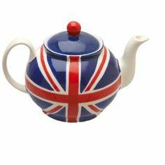 Kleine Union Jack Teekanne: Amazon.de: Küche & Haushalt