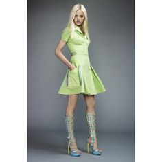Ginta Lapina- Versace Resort 2011 look book > photo 6987 > fashion... ❤ liked on Polyvore featuring ginta lapina and models