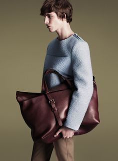 Xavier Buestel in the new Gucci Fall/Winter 2014-2015 campaign, shot by Mert Alas and Marcus Piggott