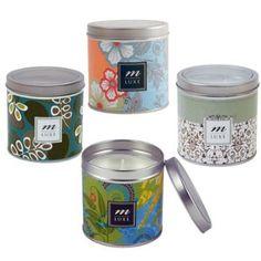 Mudlark Premium Scented Candle Tin