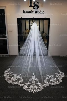 Got Married, Getting Married, White Lace, Off White, Wedding Veils, Wedding Dresses, Spring Wedding, Bespoke, Tulle