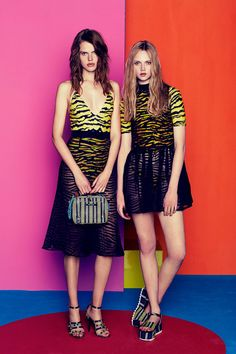 House of Holland   Resort 2015 Collection   Layered Zebra