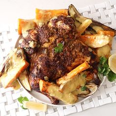 Moroccan+chicken+with+hummus+veggies