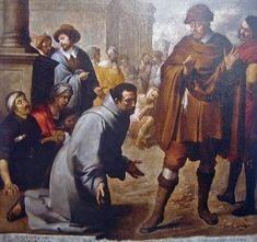 """Salvador de Horta y el Inquisidor de Aragón""""    Murillo"""