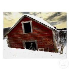 Abandoned Vermont Barn