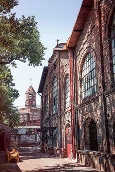 lumină lină.   biserica Cuțitul de Argint văzută de la Halele Carol.  fotografie…