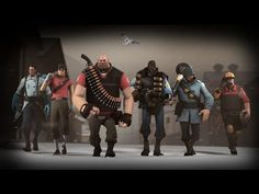 Mann vs. Machine is a new co-operative game for Team Fortress 2 that lets you and five friends wage a desperate battle to stop a lethal horde of robots from deploying a bomb in one of Mann Co.'s many strongholds. Take advantage of breaks between waves to upgrade your abilities and weapons. Survive all the waves in any of a variety of missions to earn incredible loot.