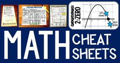 In this post are links to free math resources from Scaffolded Math and Science, including math word walls, math pennants, math cheat sheets and other fun math activities. Math Cheat Sheet, Cheat Sheets, Fun Math Activities, Math Resources, Math Word Walls, Math Poster, Math Anchor Charts, Solving Equations, Math Words