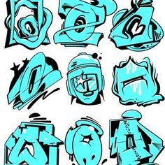 Breakdance © Favorite one? Graffiti Tattoo, New York Graffiti, Graffiti Pictures, Graffiti Writing, Graffiti Tagging, Graffiti Wall Art, Street Art Graffiti, Graffiti Artists, Graffiti Alphabet Styles
