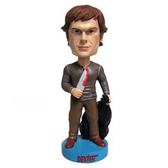 It's the blood on the knife that really makes it pop. Which is also a good lesson for fashion designers. (Dexter (Kill Outfit) Bobblehead)