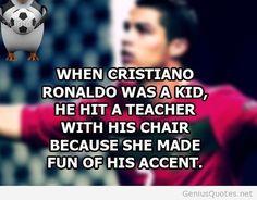 Best new Cristiano Ronaldo quote