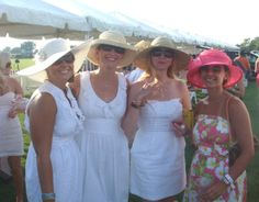 Polo in the Hamptons with our Hats!