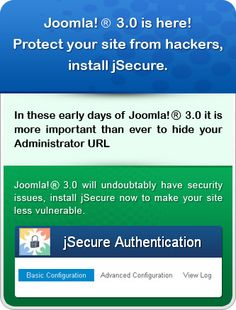 JOOMLA 3.0 : SECURITY : jSecure Authentication EXTENSION
